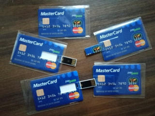Флешки - Кредитная карта 16 Гб USB 2.0 Memory флэш-накопитель