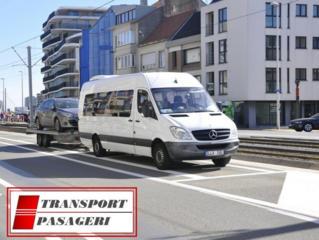 Transport de pasageri, colete spre Germania-Moldova