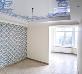 2 спальни + (ливинг & кухня) 53m2! евро ремонт! теплые полы!