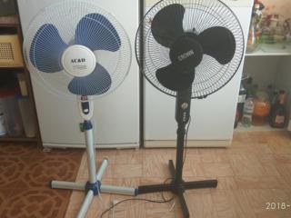 Два вентилятора по 250 лей.