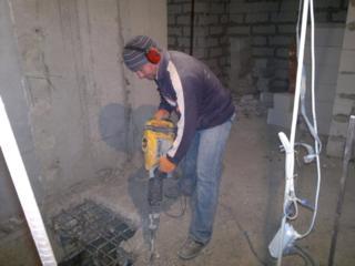 Бельцы услуги отбойного молотка перфоратора бетоновырубка! Сверление
