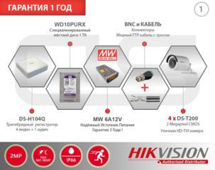 Надёжные системы видеонаблюдения. IP камеры видеонаблюдения Hikvision