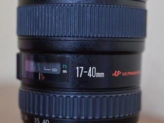 CANON EF 17-40mm f/4L USM-500$