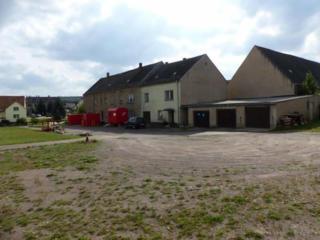 Германия, большой фермерский дом с коттеджем, гаражами и хозяйством
