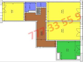 Продается 3-комнатная квартира на набережной г. Бендеры