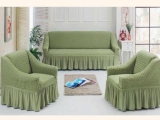 Еврочехлы для мягкой мебели! Для стульев! Большой выбор моделей и расц