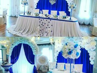 НЕДОРОГО декор зала в любом цвете. Украшения авто. Все для свадьбы.