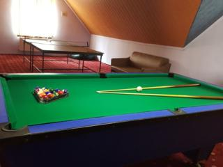 Теплый бассейн - Бильярд, настольный теннис, бассейн. Сауна на дровах