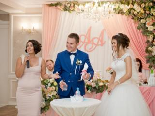 Выездная свадебная регистрация. Ведущая церемонии