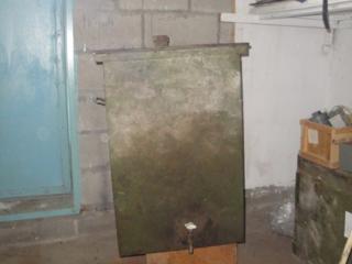 Продам ёмкость металлическую на 200 литров для ГСМ за 500 рублей.
