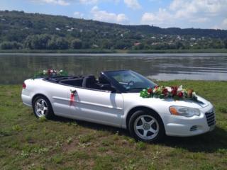 Крайслер Кабриолет украсит вашу свадьбу или торжество!
