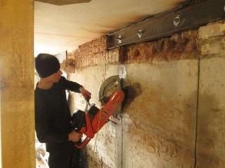 Алмазная резка бетона стен перегородок перепланировка квартир домов!!!