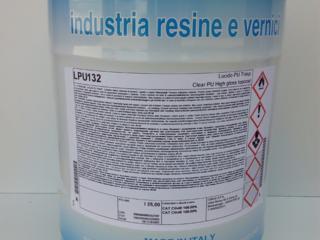 Лак полиуретановый высокоглянцевый прозрачный Sirca LPU132