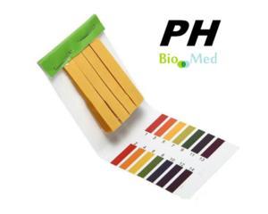 Benzi pH hartie de turnesol testare pH, Лакмусовые pН-полоски
