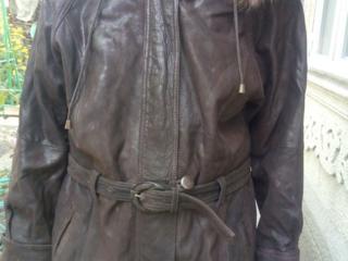 Шуба цигейка натуральная 46-48 размер и кожаная куртка 48-50 размер