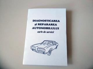 Сервисная книжка - carte de deservire auto