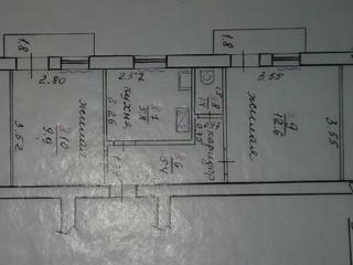 Продам 2-ком. кв. 3/3 Центр г. Бендеры частичные удобства.