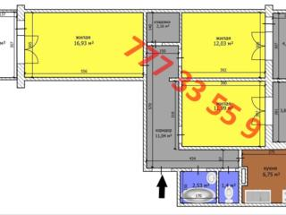 Продается 3-комнатная квартира на БАМе