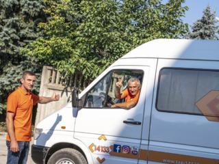 Taxi 14133, servicii de transport marfa in Chisinau