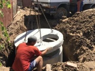 Копаем канализации траншей сливные септики водопровод доставка колец!!