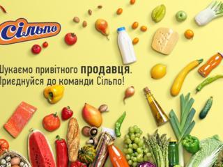 Продавец продовольственных товаров ЗП от 9300 грн