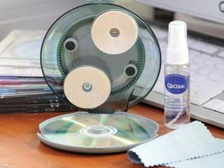 Набop для полировки и удаления царапин на CD и DVD дисках.