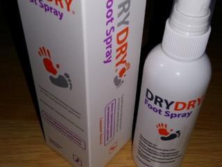Drydry foot spray - средство от потливости ног. эффект 7 дней.