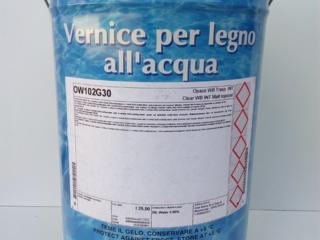 Лак водоразбавляемый для внутренних работ Sirca OW102G30