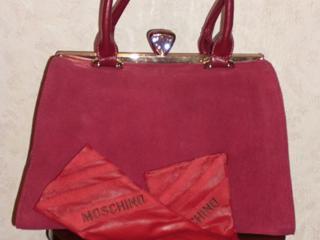 Продаются женская сумка и перчатки из натуральной кожи