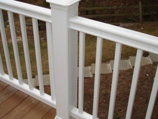 Balustrade din lemn plastifiat / Перила из ДПК