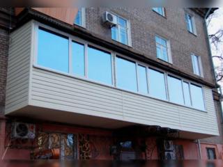 Ремонт балконов, кладка. Окна. Alungirea balcoane, demolarea. Ferestre