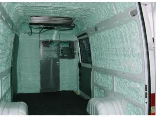 Теплоизоляция холодильных камер и кузовов автомобилей пенополиуретаном
