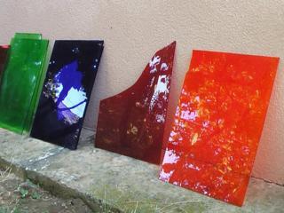 Продам цветное витражное стекло