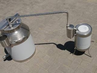 Самогонный аппарат из пищевой нержавейки/aparate de distilare din inox