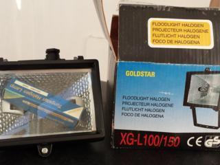 Продам прожектор галогеновой с лампой, 120 руб.