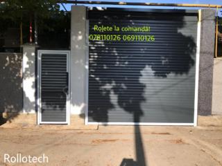 ROLETE UȘI de garaj secționate - uși ferestre din PVC