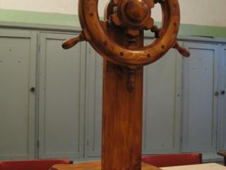 Штурвал деревянный №1