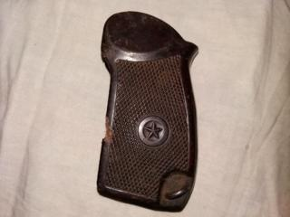 Бакелитовая рукоятка для пистолета Макарова, оригинал.