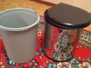 Vand caldare pentru gunoi de inox
