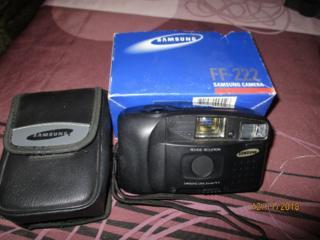 Продам Samsung FF-222 -пленочный фотоаппарат в фирменном чехле 250 лей