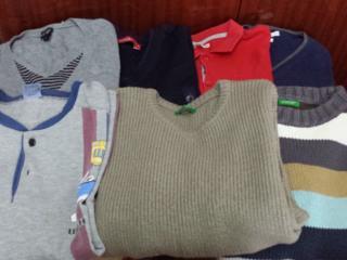 Продам детс. вещи-дубленку, шубу, свитера, обувь, Не новое дешево