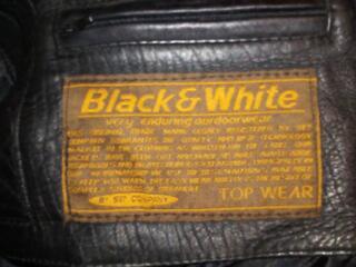 Куртка кожаная мужская черного цвета, размер 52-54