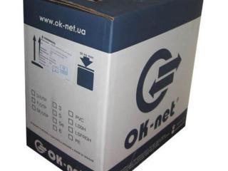 КАБЕЛЬ Ok-net КПВ-ВП (350) 4х2х0,50 (UTP-cat. 5е)