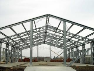 Металлические конструкции: ангары склады фермы. дома многоквартирные.