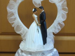 Украшение для свадебного торта 25 см * 20 см - 180 руб (USA)