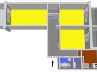 3-комнатная на БАМе