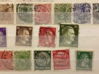 Продам интересный альбом коллекционных марок............