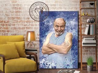 Художественные портреты на холсте по вашей фотографии.