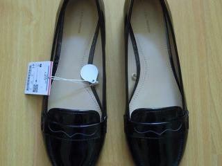 Продаю чёрные лаковые туфли ZARA. Размер 40-41