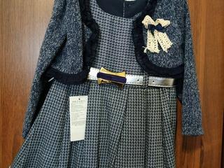 Платье и костюм, новые, на 1-2 года